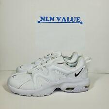 Nike Air Max Graviton Lea Men's Running Shoes White/Black Cd4151-100 sz 12.5