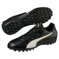 Puma Classico C II TT Herren Fußballschuhe Multinocken Schuhe schwarz weiß gold