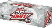 Diet Mtn Dew: Code Red 12-Pack; 1 pack of 12oz Cans. RARE!