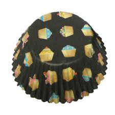 5 x 60pk Eddingtons Grote Big Cup Cake Cupcake Muffin Hoesjes Heaven Black