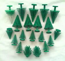 20 Lego Pine Tree and Prickly Bush Lot Plants Trees all in pics