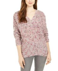$60 Style & Co V-Neck Dolman-Sleeve Sweater Size Medium