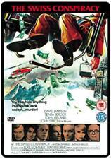 The Swiss Conspiracy - Brand NEW DVD - David Janssen