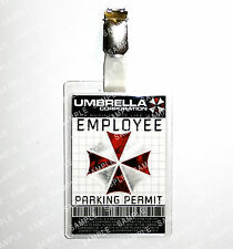 Resident Evil ID Badge Umbrella Corp Employee Parking Cosplay Costume Comic Con