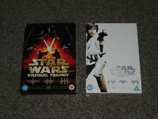 STAR WARS : EPISODES I - VI  (1 - 6) 9 DISC DVD COLLECTION IN VGC (FREE UK P&P)