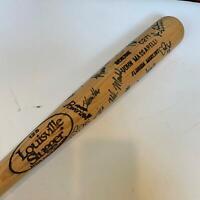 1994 New York Mets Team Signed Autographed Baseball Bat