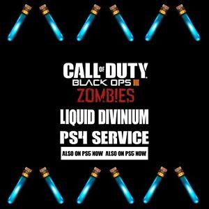 Black Ops 3 Liquid Divinium Service/ PS4 & PS5 + ZM Unlock All 🔥