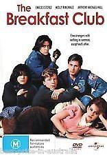 THE BREAKFAST CLUB (1985) - BRAND NEW & SEALED DVD (EMILIO ESTEVEZ, JUDD NELSON)