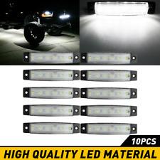 White Led Rock Light 10 pods Lights for Off Road Truck Car Atv Suv Under Wheel