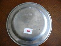 Rarität fast 200 Jahre alter Zinn Teller Zinnteller massiv Zinn 3x gestempelt 10