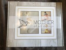 Baby Handprint Picture Frame Kit - MOLD FREE TREATMENT, 100% Glass Face