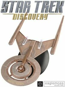 Eaglemoss Star Trek Discovery U.S.S. Discovery NCC-1031 Ship Brand New In Stock