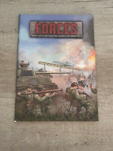 Flames of War: FORCES army lists / painting guides , Softcover, RPG