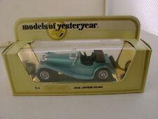1978 MATCHBOX LESNEY MODELS OF YESTERYEAR 1:38 Y-1 1936 JAGUAR SS100 NEW IN BOX