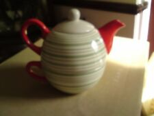 LOVELY TEA FOR ONE SET,  LARGE,VGC, FREE-MAILING.REDUCED,