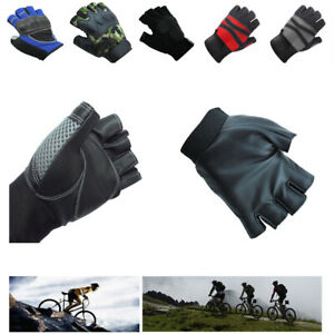 Half Finger Cycling Gloves Bike Bicycle Riding Exercise Training Gym Fitness