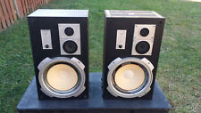 Pair Speakers Vintage Criterion 3000 3 way Speaker System classic antique