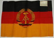 DDR Fahne  60cm + 40cm Ostalgie Fasching Mottoparty Uniform FDJ NVA SED Museum