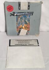 """PANTHER Commodore 64 Game 5.25"""" Floppy Disk Box INCOMPLETE Tested & Working"""