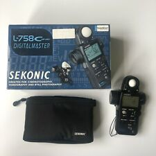 Sekonic L-758CINE DigitalMaster Light Meter Mint Condition Photography