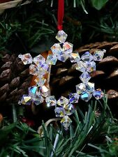 Star Christmas Tree Decoration making kit with Swarovski Crystals