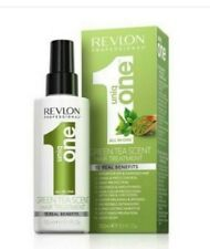 REVLON UNIQ 1 ALL IN ONE GREEN TEA SCENT HAIR TREATMENT  150ML
