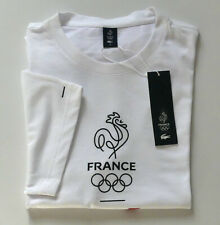 "T.-Shirt Neuf, coton/polyester France olympique ""Lacoste"" - Taille 7 ou 2XL"