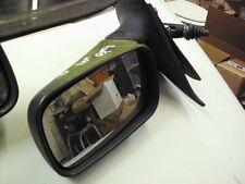 Fiat Punto Mk1 93-99 Door Mirror, Right Drivers Side, Manual, Black plastic