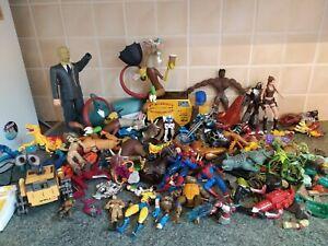 Almost 5kg damaged random toy bundle spares and repairs figures custom fodder