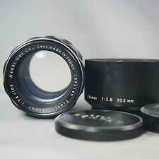 Asahi Opt (PENTAX) Super TAKUMAR 105mm f2.8 for M42 Screw mount