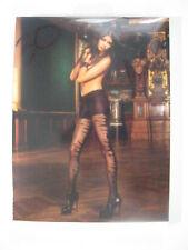 Baci Lingerie Black Sheer Control Top Jacquard Pantyhose ONE SIZE #30