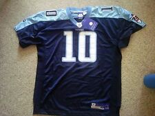 Tennessee Titans Vince Young sz 50 jersey #10 All Sewn Name #'s No Sceen