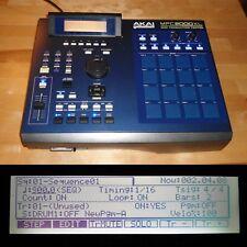 CUSTOM Akai MPC 2000XL Blue LEDs/PADS 1GB CF MAXED RAM FULLY SERVICED