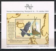 IJsland 2003 blok 32 Nordia 2003 - schepen - ships - cat waarde € 8,50