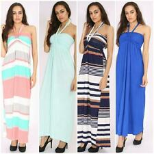 Halterneck Cocktail Maxi Dresses for Women