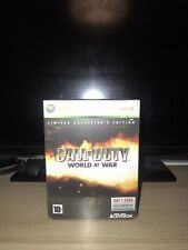 Call Of Duty World At War Limited Collector's Edition Xbox 360 Complete