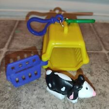 Sonic Wacky Pack Pet Keeper Yellow Kennel With Bunny Rabbit 2001