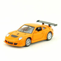 1:39 Porsche 911 GT3 RSR Racing Model Car Diecast Gift Toy Vehicle Kids Orange