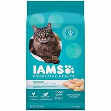 IAMS Proactive Health Adult Indoor Weight & Hairball Control Dry Cat 7 lb.