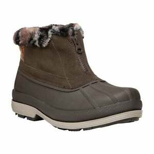 Propet Lumi Ankle Zip Womens  Boots   Ankle  - Brown