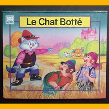 Livre à systèmes LE CHAT BOTTÉ Éditions Hemma 1995