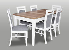 Designer Chair Table Set Sets Complete Living Room Dining Country House Style