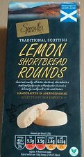 160G BOX SPECIALLY SELECTED SCOTTISH LEMON SHORTBREAD ROUNDS - U.K SELLER