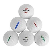 10 Dozen Precept Mint Aaaaa Recycled Used Golf Balls + Free Tees
