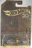 2018 Hot Wheels 50th Anniversary 2/6 Black & Gold TWINMILL Black w/Gold OH5 Sp