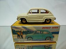DINKY TOYS ATLAS 520 FIAT 600 D 600D - CREAM 1:43 - MINT IN BOX