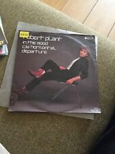 "Robert Plant 7"" In The Mood German  Issue Ex Vinyl LED Zeppelin"