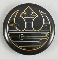 "New Disney Star Wars Episode 8 The Last Jedi Rebel 1"" Pinback Pin Back Button"