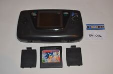 Sega Game Gear + jeu Sonic The Hedgehog