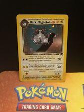 Dark magneton 11/82 Team Rocket EX Condition Holo Pokemon Card